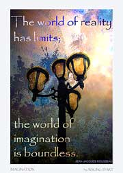 world of imagination atc by aisling d'art